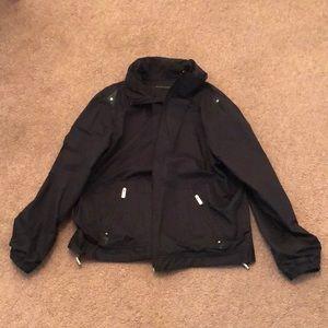 Sean John Black Hooded Jacket